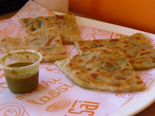 Cheese n Jalapeno Paratha